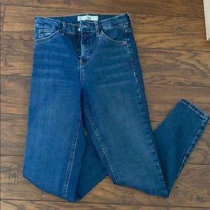 Top shop Jamie high waisted jean